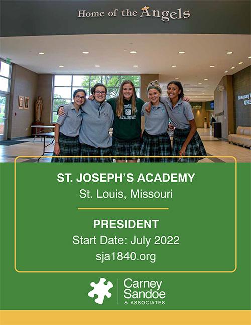 St. Joseph's Academy Job Description Graphic